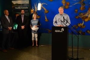 Halkett Bay Provincial Marine Park Announcement